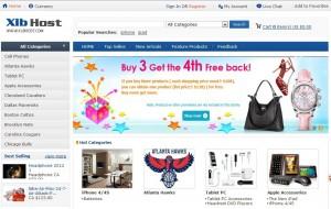 英文外贸购物网店